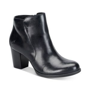 Born Bootie Leather Ankle Boots